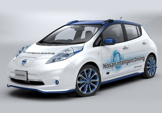 Nissan Intelligent Driving 1