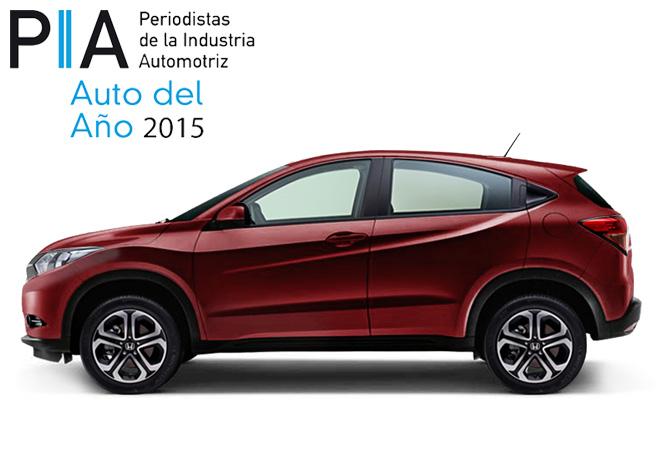 PIA - Auto del Año 2015 - Honda HR-V