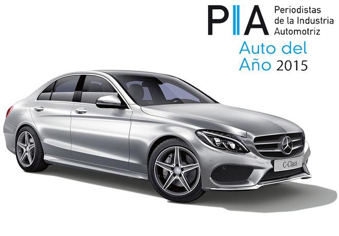 PIA - Auto del Año 2015 - Mercedes-Benz Clase C