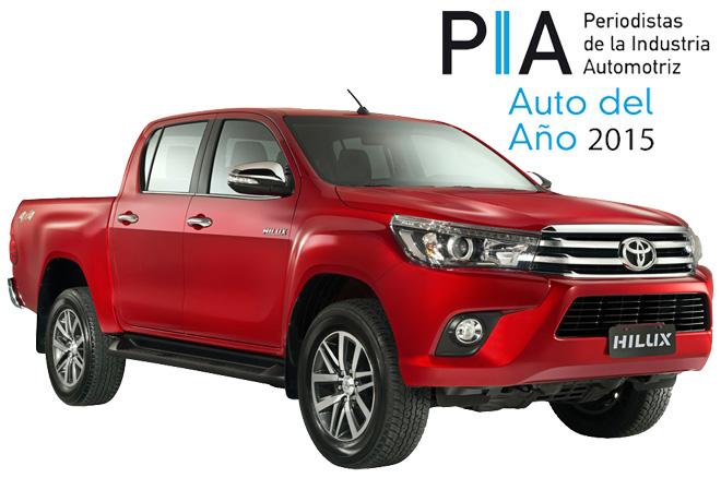 PIA - Auto del Año 2015 - Toyota Hilux