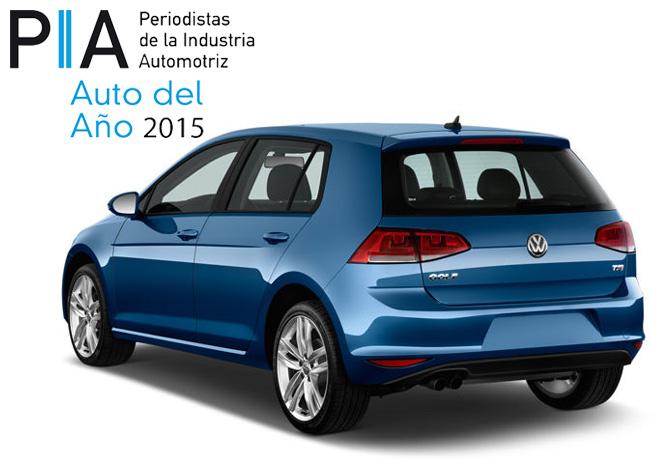 PIA - Auto del Año 2015 - VW Golf VII
