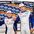 Rally Argentino - Entre Rios 2015 - Final - Marcos Ligato - Ruben Garcia en el Podio