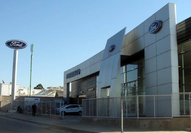 Sucursal de Ford Pussetto en Jujuy