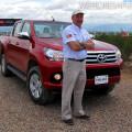 Toyota - Daniel Herrero en la presentacion de la Nueva Hilux en Mendoza