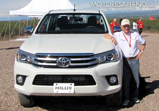 Toyota - Presentacion Nueva Hilux en Mendoza