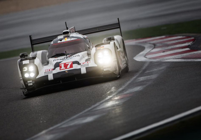 WEC - 6 hs de Shanghai 2015 - Timo Bernhard - Mark Webber - Brendon Hartley - Porsche 919 Hybrid