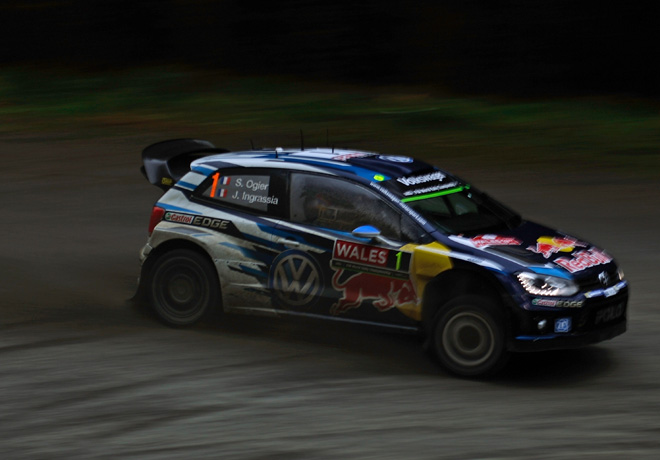 WRC - Gales 2015 - Dia 2 - Sebastien Ogier - VW Polo R