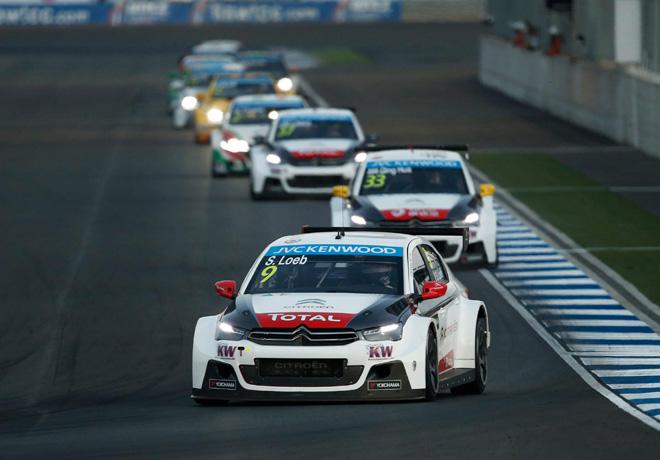 WTCC - Buriram - Tailandia 2015 - Carrera 2 - Sebastian Loeb - Citroen C-Elysee - Campeon