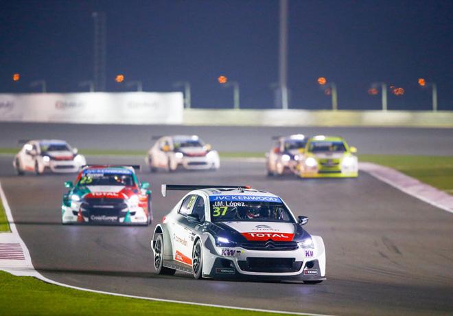WTCC - Losail - Qatar 2015 - Carrera 1 - Jose Maria Lopez - Citroen C-Elysee