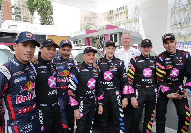 Dakar 2016 - AXION X-raid Team 1