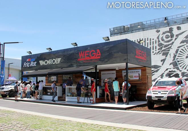 Dakar 2016 - Fric-Rot y Wega en Tecnopolis 1
