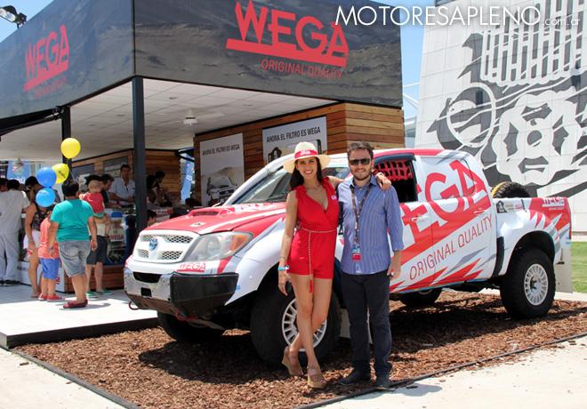 Dakar 2016 - Fric-Rot y Wega en Tecnopolis 4