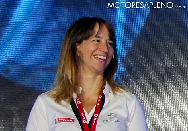 Dakar 2016 - Presentacion Team Peugeot Total - Aixa Dominguez Brizzio