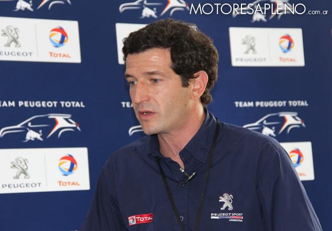 Dakar 2016 - Presentacion Team Peugeot Total - Julian Tello