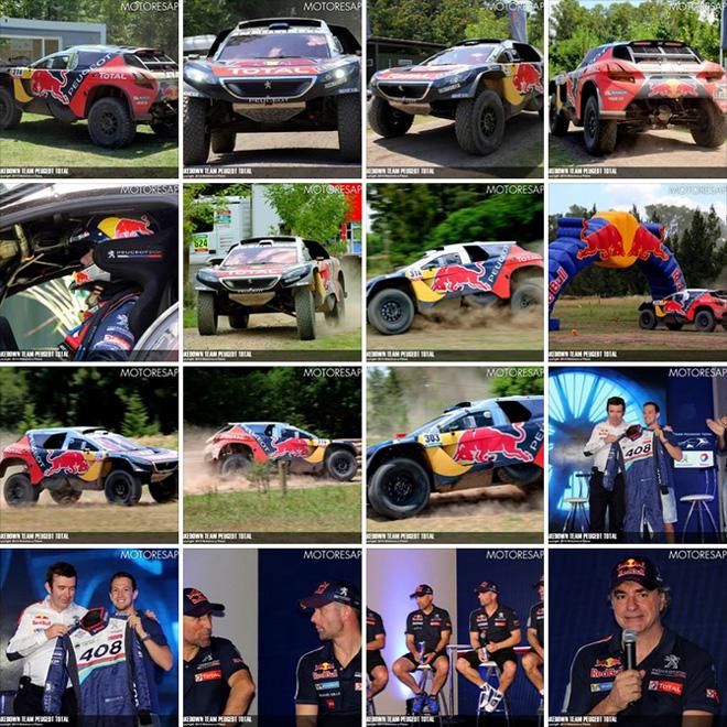 Dakar 2016 - Shakedown Team Peugeot Total - Galeria Facebook