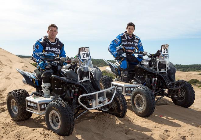 Dakar 2016 - YPF Elaion Moto Rally - Daniel Domaszewski - Lucas Bonetto