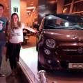 Fiat 500tweet - Juan Ignacio Chela y Geraldine Neuman