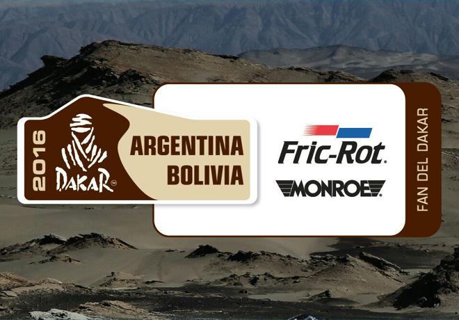 Fric-Rot sera el amortiguador oficial del Dakar 2016