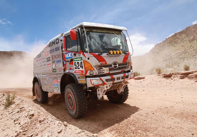 HINO vuelve a participar en el Dakar