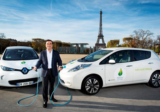 La Alianza Renault-Nissan comparte detalles sobre la flota de 200 vehiculos electricos para la COP21
