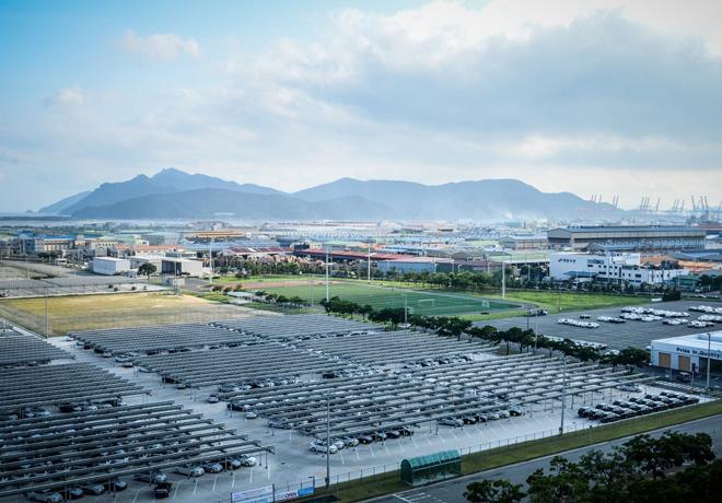 La Alianza Renault-Nissan emplea energias renovables para reducir las emisiones de CO2
