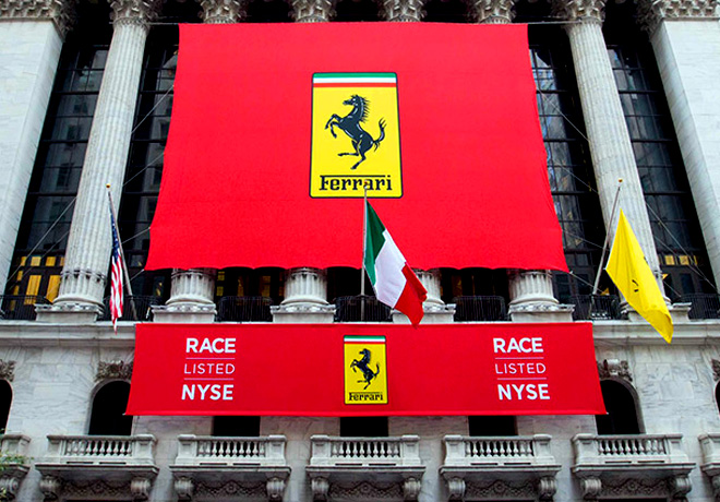 La Asamblea de Accionistas de FCA aprueba la separacion de Ferrari