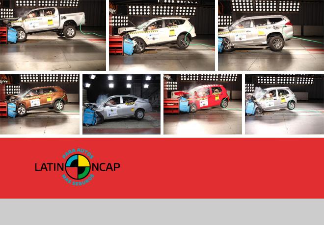 Latin NCAP - Ultimos resultados - Diciembre 2015