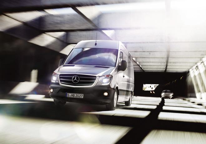 Mercedes-Benz Sprinter se exportara a Estados Unidos y Canada