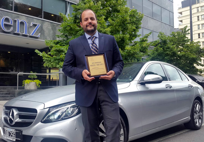 Premios PIA 2015 - Mercedes-Benz Clase C - Gustavo Castagnino