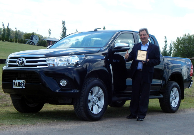 Premios PIA 2015 - Toyota Hilux - Daniel Herrero