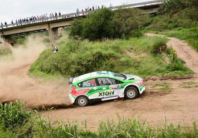 Rally Argentino - Villa Carlos Paz 2015 - Etapa 1 - Nicolas Diaz - Ford Fiesta MR