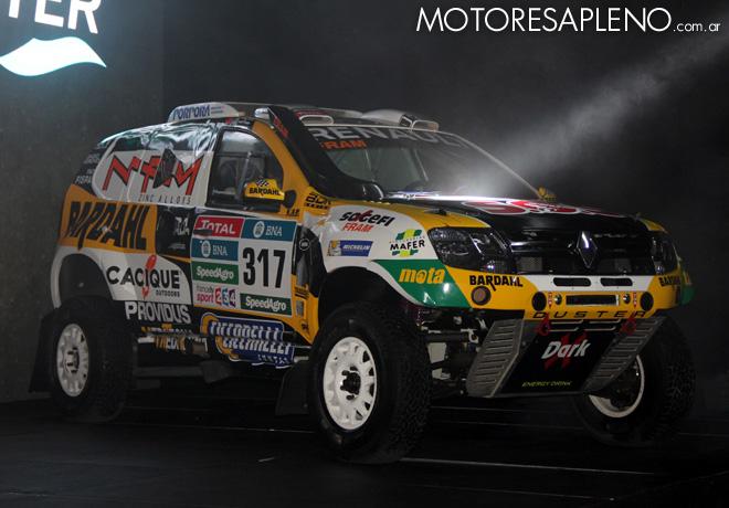 Renault - Presentacion Duster Dakar Team 2016 2