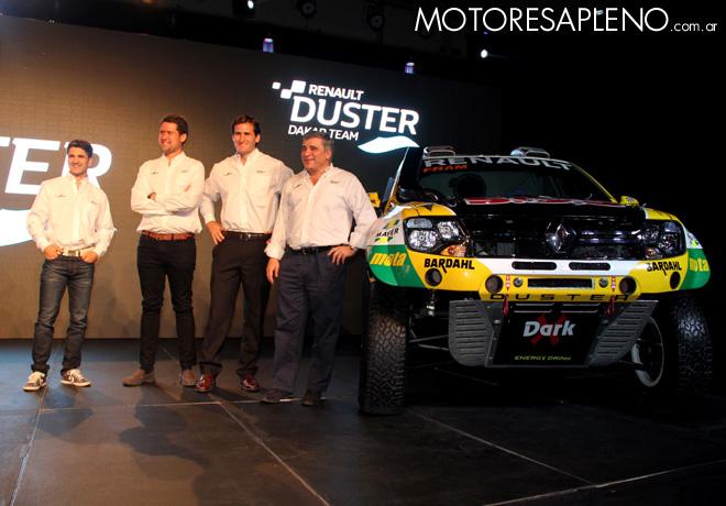 Renault - Presentacion Duster Dakar Team 2016 3