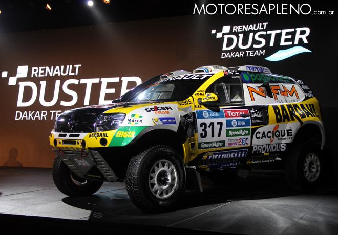 Renault - Presentacion Duster Dakar Team 2016 4
