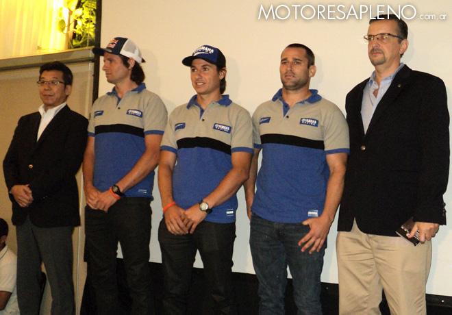 Se presento la formacion de Yamaha para el Dakar 2016 1