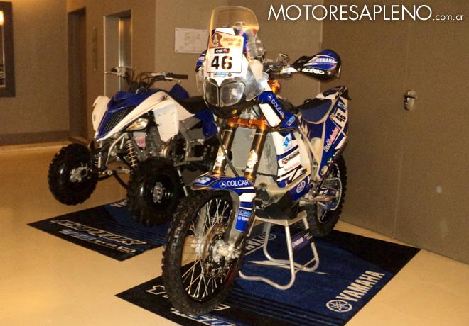 Se presento la formacion de Yamaha para el Dakar 2016 2