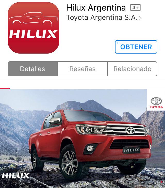 Toyota Argentina - Aplicacion Movil