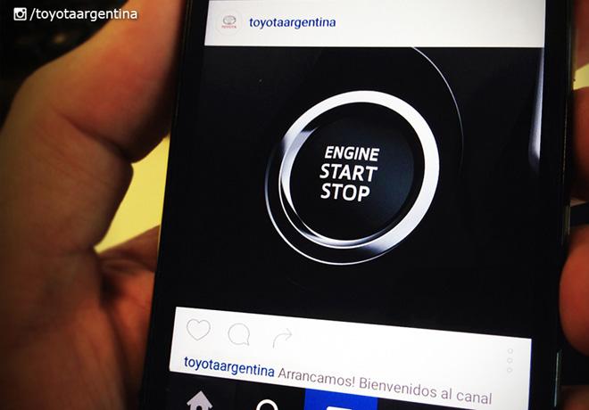 Toyota Argentina en Instagram