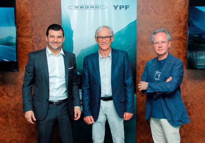 YPF y Pagani Automobili firmaron un acuerdo para la recomendacion de Infinia y Elaion