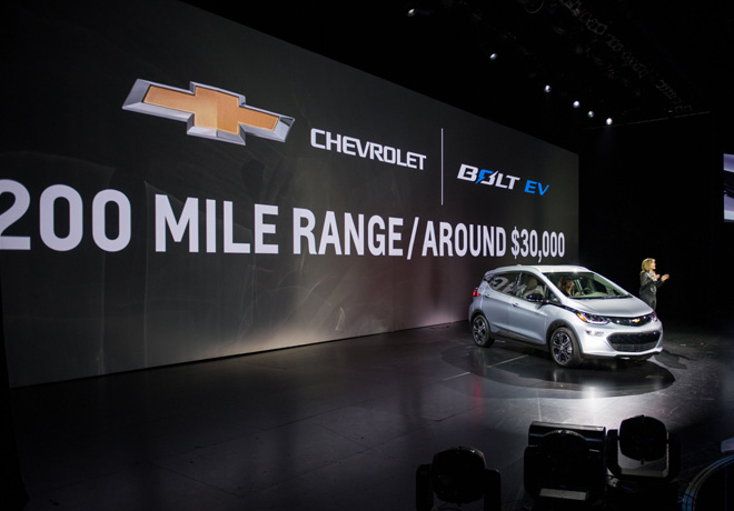 Chevrolet Bolt EV 2017 1