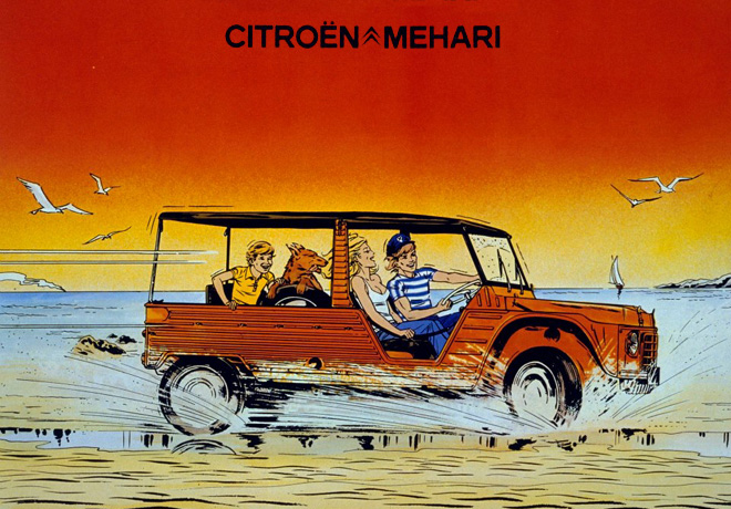 Citroen Mehari - Publicidad antigua