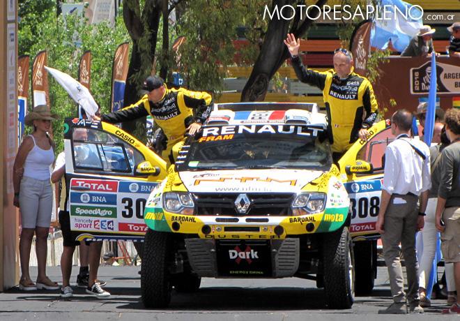 Dakar 2016 - Christian Lavieille - Michel Polato - Renault Duster Dakar Team