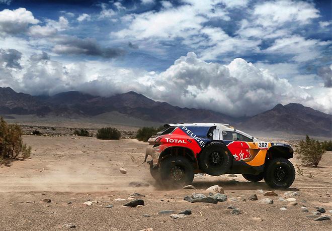 Dakar 2016 - Etapa 10 - Stephane Peterhansel - Peugeot 2008 DKR16