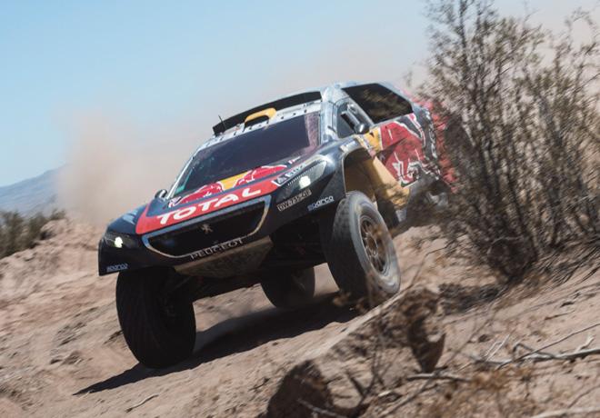 Dakar 2016 - Etapa 11 - Stephane Peterhansel - Peugeot 2008 DKR16