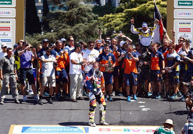 Dakar 2016 - Etapa 13 - Final - Toby Price - KTM