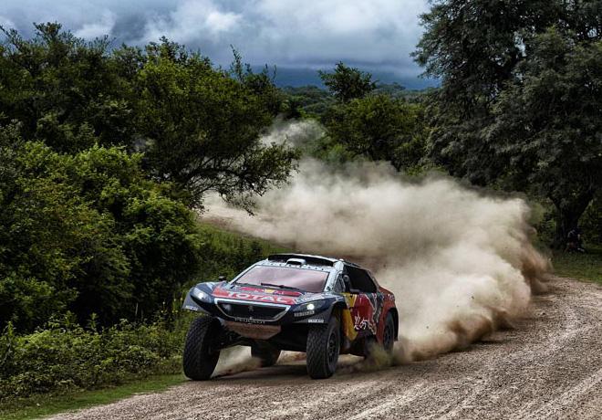Dakar 2016 - Etapa 3 - Sebastien Loeb - Peugeot 2008 DKR16