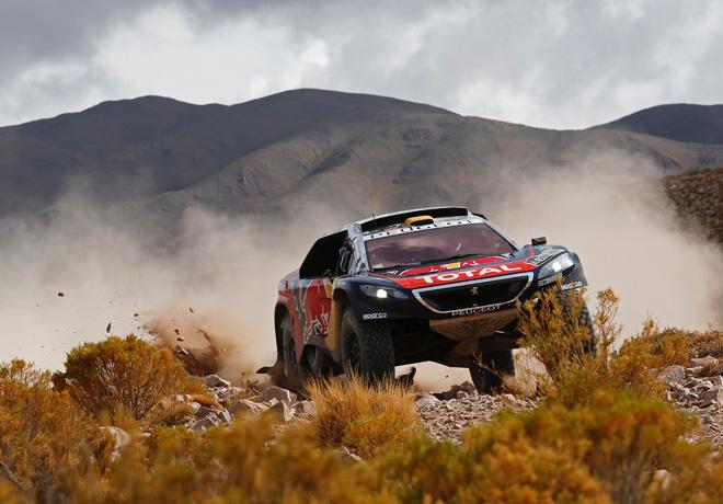 Dakar 2016 - Etapa 4 - Stephane Peterhansel - Peugeot 2008 DKR16