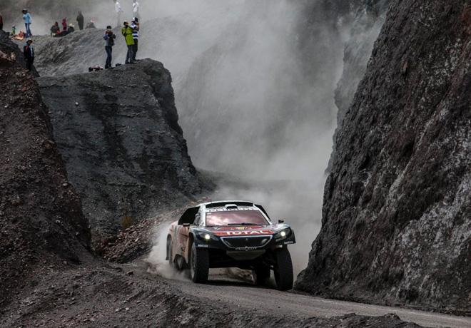 Dakar 2016 - Etapa 5 - Sebastien Loeb - Peugeot 2008 DKR16 copia