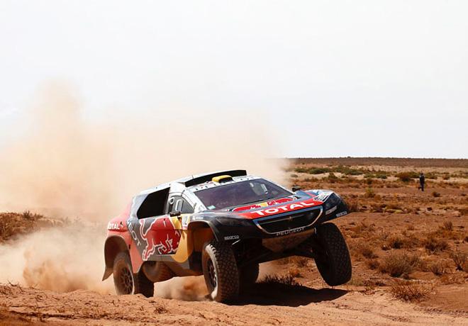 Dakar 2016 - Etapa 6 - Stephane Peterhansel - Peugeot 2008 DKR16