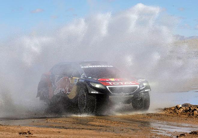Dakar 2016 - Etapa 7 - Carlos Sainz - Peugeot 2008 DKR16